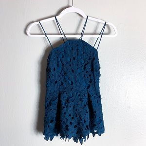 345824d3b2ea3 Women Crochet Lace Top Forever 21 on Poshmark